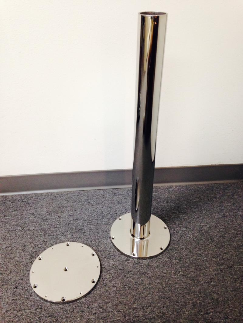 Stainless Steel Chair Pedestal
