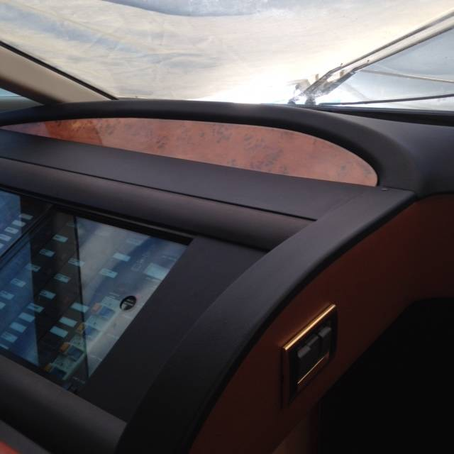 Yacht Dashboard Upholstering
